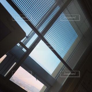 病室から見える景色の写真・画像素材[1840022]