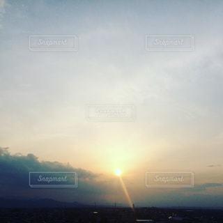 夕日の写真・画像素材[422448]