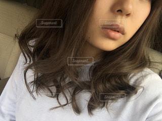 巻き髪 - No.750778