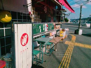 海沿いカフェの写真・画像素材[750800]
