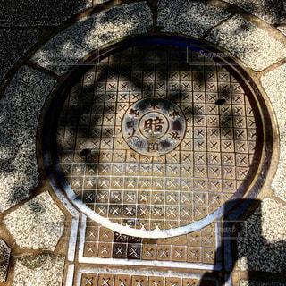 マンホールの写真・画像素材[555492]