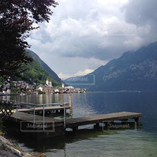 湖の写真・画像素材[407362]