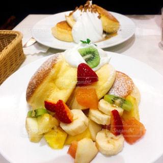 幸せのパンケーキの写真・画像素材[1023559]