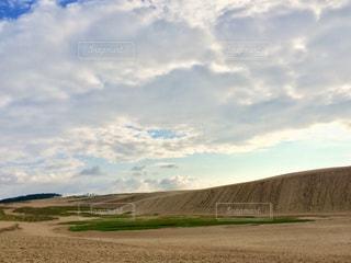 鳥取砂丘の写真・画像素材[1136237]
