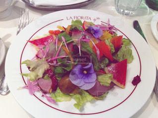 花サラダの写真・画像素材[1739127]