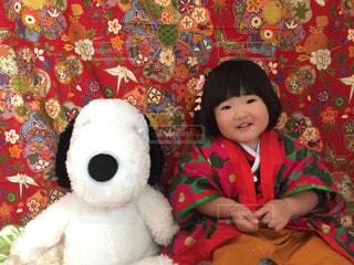 #子供の写真・画像素材[410996]