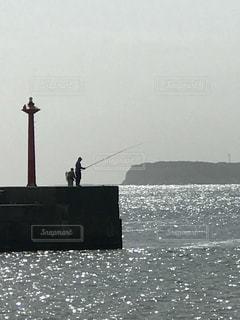 釣り人の写真・画像素材[1206299]
