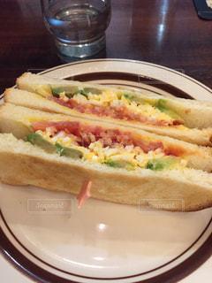 サンドイッチ プレート、の写真・画像素材[893753]