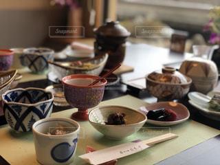 旅館の朝食の写真・画像素材[946039]