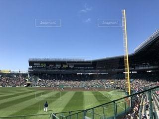 阪神甲子園球場の写真・画像素材[1062461]