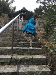 石階段の写真・画像素材[412100]
