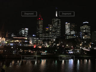 city of Melbourneの写真・画像素材[412972]