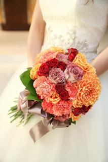 結婚式のブーケの写真・画像素材[1010637]