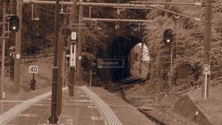電車通りを移動します。の写真・画像素材[757619]
