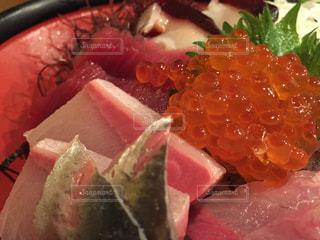 食品のプレートの写真・画像素材[985655]