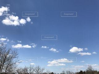 #雲  #空  #青空の写真・画像素材[413443]