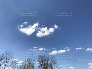 #雲  #空  #青空の写真・画像素材[413444]
