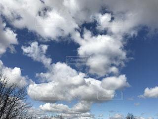 #雲  #空  #青空の写真・画像素材[413445]