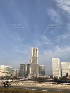 #横浜  #ランドマークタワーの写真・画像素材[414177]