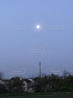 #月 #明け方  #夜空の写真・画像素材[431172]