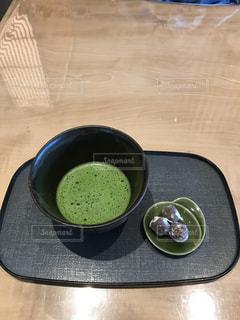 #抹茶  #お茶の写真・画像素材[451086]