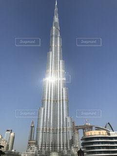 ドバイの世界一高いビルブルジュカリファ^ - ^!の写真・画像素材[833575]