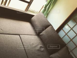 IKEAのソファベッドの写真・画像素材[1747531]
