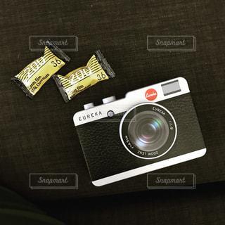 カルディのカメラ缶の写真・画像素材[1747536]