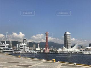 神戸のハーバーランドの写真・画像素材[765044]