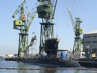 潜水艦の休日の写真・画像素材[831515]