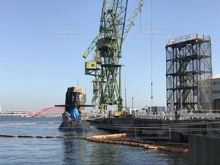 潜水艦の休日の写真・画像素材[831519]