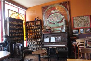 カフェの写真・画像素材[414459]