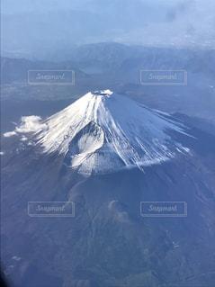 飛行機から見る富士山の写真・画像素材[1667565]