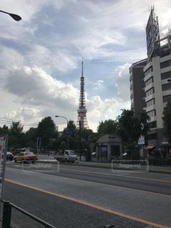 東京タワーの写真・画像素材[507711]