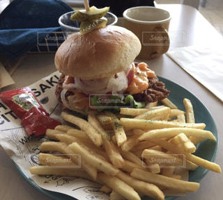 ハンバーガーの写真・画像素材[438177]