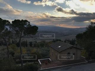 ピエンツァの景色の写真・画像素材[952397]