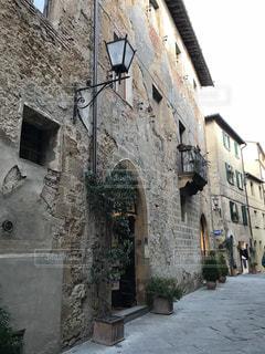 ピエンツァの街並みの写真・画像素材[952398]