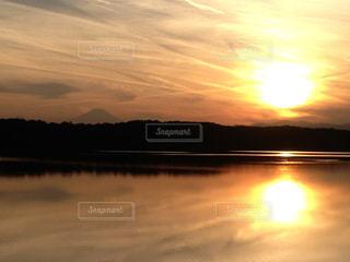 夕日の写真・画像素材[429718]