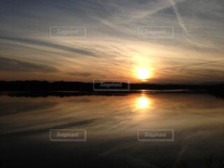 夕日の写真・画像素材[429719]