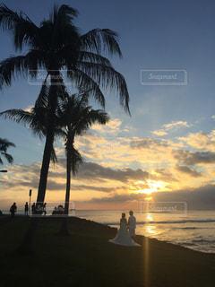 夕日の写真・画像素材[417191]