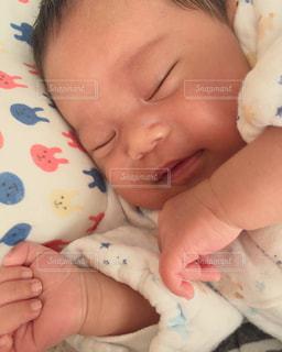寝顔の写真・画像素材[425862]