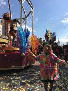 #USJ#パーク#ユニバーサルスタジオジャパン#パレード#大阪#テーマパークの写真・画像素材[419495]