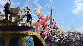 #USJ#パーク#ユニバーサルスタジオジャパン#パレード#大阪#テーマパークの写真・画像素材[419496]