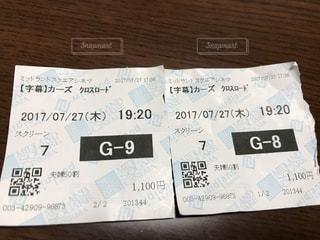 チケットの写真・画像素材[648967]