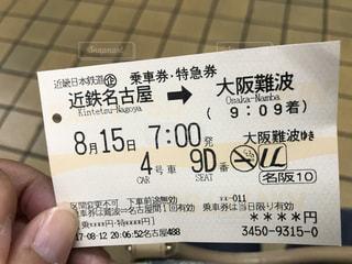 チケットの写真・画像素材[677402]