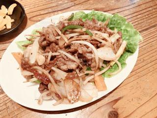 ジンギスカン焼肉定食の写真・画像素材[1212928]