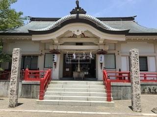 一岡神社に行ってきました。の写真・画像素材[1222224]