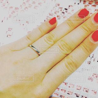 結婚指輪の写真・画像素材[608502]