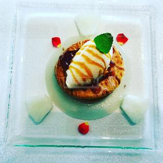 梨のデザートの写真・画像素材[774657]