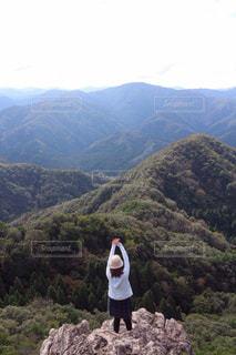 登山の写真・画像素材[426079]